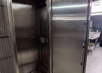 Painel modular vertical aço inox