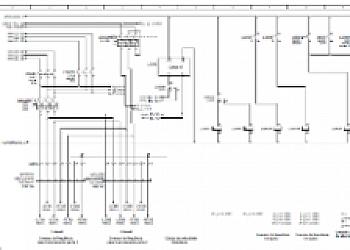 Projeto elétrico padrão de entrada